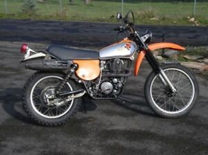 Yamaha TT Wanted for Collection