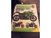 Kawasaki Versys 1000 Haynes Manual.
