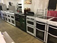 Electric and Gas Cookers and lot more white goods