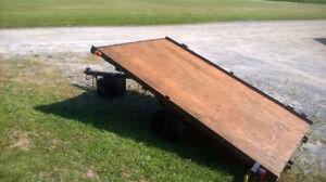 5'x8' tilt  trailer