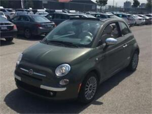 2014 FIAT 500C LOUNGE CABRIOLET (AUTOMATIQUE, CUIR, MAGS, FULL!)