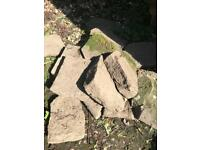 Yorkshire style rockery stone