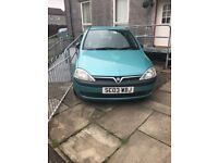 Vauxhall Corsa 1.2 (spares and repair)