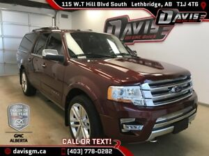 Used 2016 Ford Expedition Max-Heated/Cooled Leather, Navigation,