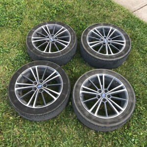 BRZ/FRS OEM WHEELS 5x100 - Set of 4 with Tires