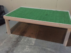 Kid's play table - can be used both indoor and outdoor.