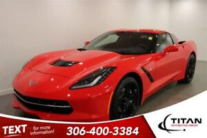 2016 Chevrolet Corvette Stingray  Torch Red Heated Leather 5843