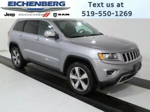 2016 Jeep Grand Cherokee Limited *EXECUTIVE VEHICLE*