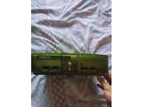Rare clear green uk halo original xbox