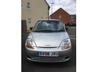 2008 Chevrolet Matiz S, 5 Door Hatchback Silver, Manual, Petrol, Service and MOT till February 2018