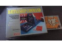 V tech vintage battleships and grandstand tv game
