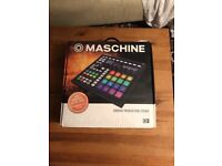 Native Instruments Maschine MKII MK2 music production drum sequencer boxed mint
