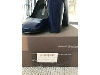Kennel&Schmenger court shoes patent leather deep blue
