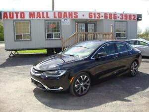 2016 Chrysler 200 C *** Pay Only $76 Weekly OAC ***