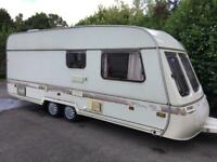 Swift Challenger 550/5 berth twin axel