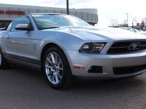 2011 Ford Mustang V6 CONVERTIBLE, SIRIUS, HEATED SEATS, CRUISE