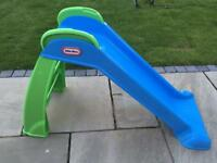 Little tikes blue slide