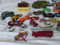 Vintage Dinky Corgi Solido Burago models job lotshado 2 Rover TC