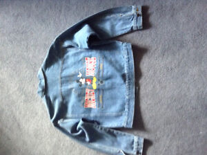 Child's Mickey Mouse Authentic Denim Jacket - Girl's or Boy's