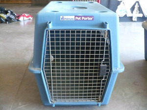 Large Dog Kennel   Dimensions are 36 inches L x 24 inches x 26 i