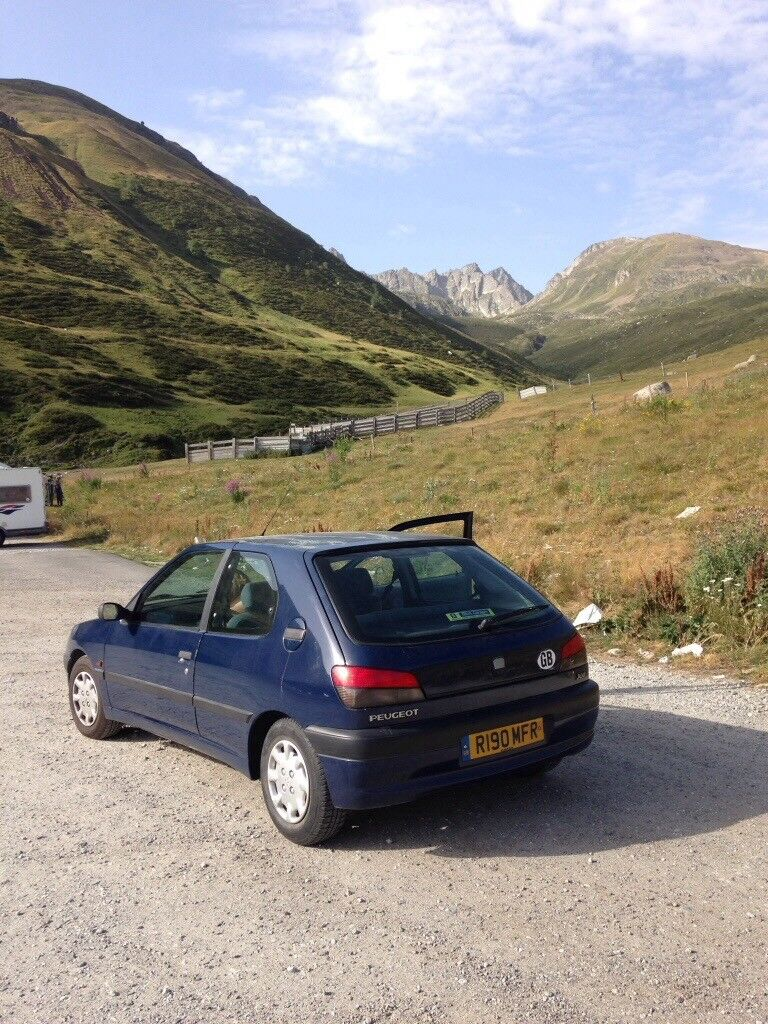 Peugeot 306 LD, 1997, 1.9 diesel, manual, 3 dr