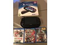 PS Vita with games
