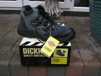 Dickies Storm Safety Boot Trainer, Grey Mesh Size 6 and 11