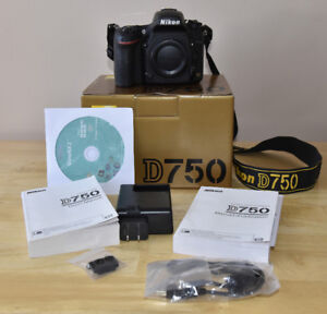 Nikon D750 with accessories