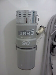 """Central Vacuum """"TURBO 90"""" -- All  Accessories Included !"""