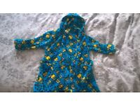 brand new minions dressing gown size 4-5 years