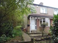 Three Bedroom Spacious End Terrace With A Three Tier Garden In the Bd7 Area Of Bradord