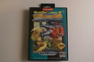 Street Fighter II Special Champion Edition - Sega Genesis Game