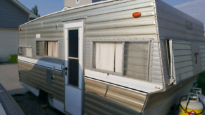 Old 16 foot Travel Trailer