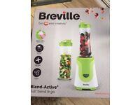 Breville VBL062 Blend Active Personal Blender, 300 W - White/Green