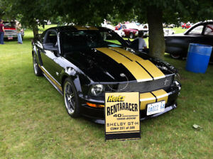 06 Hertz Shelby GTH Mustang very collectible