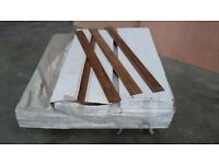 Bamboo Parquet Strip Flooring (carbonized)