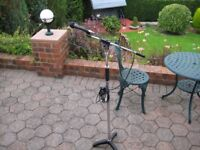 FOR SALE MICROPHONE AND STAND