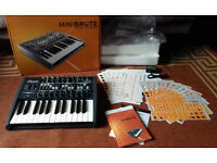 Arturia MiniBrute Analog Synthesizer new unused