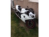 TRIUMPH DAYTONA 600 (Private Number Plate)