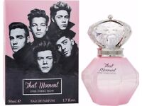 brand new One Direction That Moment 50ml Eau De Parfum Essence Spray For Her