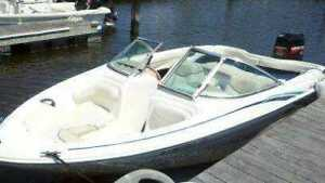 WANTED BOWRIDER BOAT FIBERGLASS OUTBOARD  16 FOOT