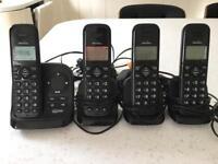 Binatone Telephones x 4