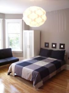 Bright, LARGE, FURNISHED room FOOTSTEPS to DAL | ALL INCLUSIVE