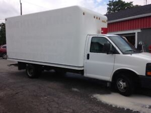 2005 GMC Savana G3500 16ft Cube Van low mileage saftied