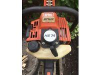 Stihl HS74 hedge trimmer