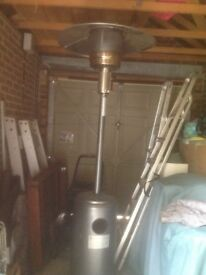 Garden gas heater.
