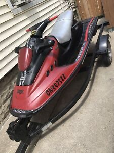Selling 1998 Bombardier SEADOO w/ Trailer As-Is