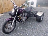 Honda Shadow 1100 Trike