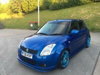 **SUZUKI SWIFT GL 1.3 PETROL 5 DOOR HATCHBACK BLUE (2006 YEAR)**