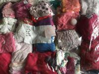 Entire pack of little girl's clothes.